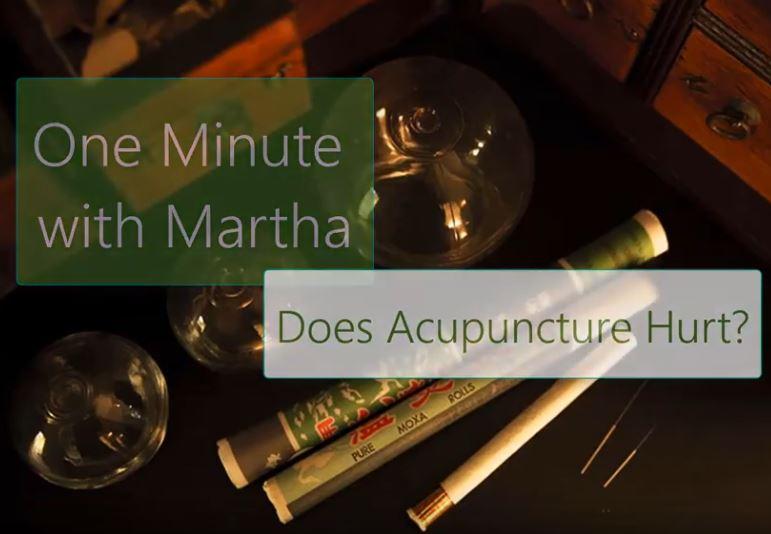 minute with martha hurt