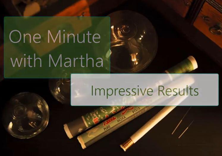 minute with martha impressive