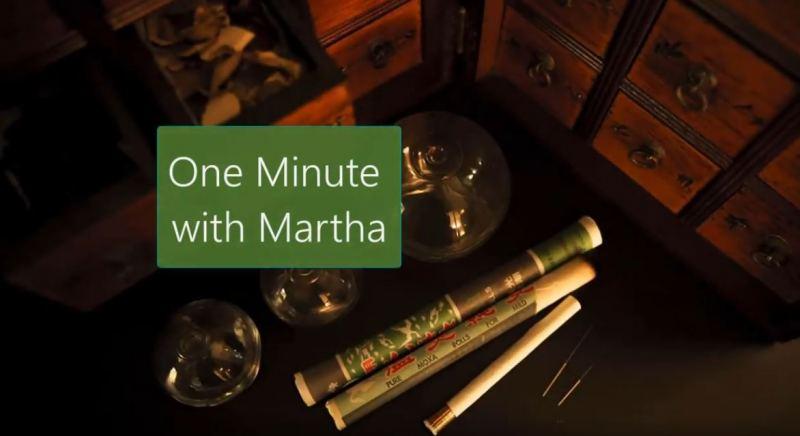 one min with martha