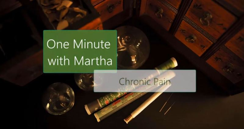 minute with martha pain