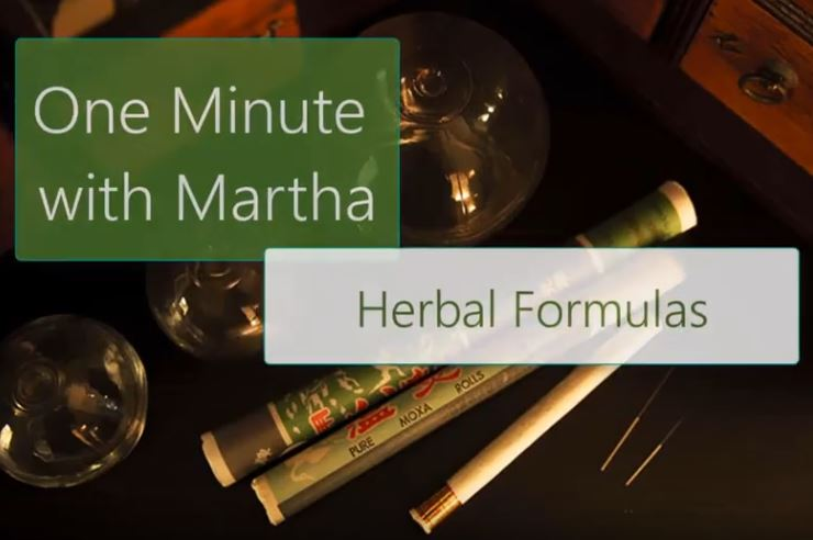 minute with martha formulas