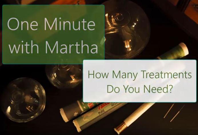 minute with martha howmany