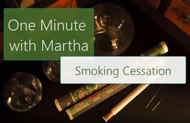 minute with martha smoking